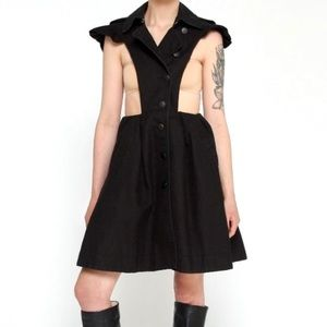 Cut Out Trench Dress